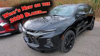Download WHAT'S NEW FOR THE 2020 CHEVY BLAZER? 2019 vs 2020 Comparison - 3 BIG DIFFERENCES Video