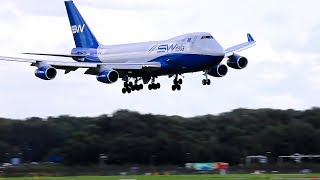 Download STORM B747 's on Rocking Approach to Schiphol times 15 Video