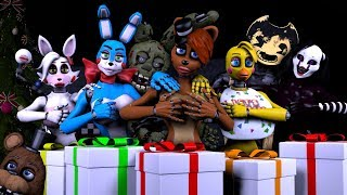 Download Five Nights At Anime Vs Bendy And The Ink Machine Sexy Christmas Pranks Video