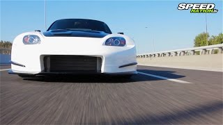 Download Honda S2000 Turbo 440Ps (Amuse Widebody) Video