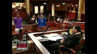 Download Thug Gets Bold With Judge Joe Brown! Video