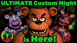 Download FNAF Ultimate Custom Night - All My Friends Are HERE!! (FNAF 6) Video