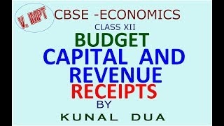 Download Capital and revenue receipts (Hindi/ English) Video