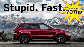 Download Jeep TrackHawk - Stupid. Fast. - Fast Blast Review | Everyday Driver Video