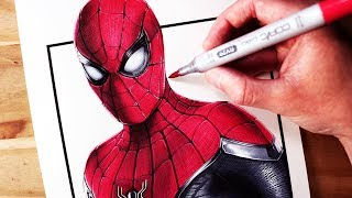 Download Let's Draw SPIDER-MAN: FAR FROM HOME - FAN ART FRIDAY Video