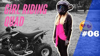 Download Girl rides for the First time - German Quad Vlog #6 Video