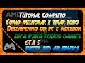 Download Como Tirar o Lag de GTA 5 e Todos Outros Jogos (Notebook/PC) Video