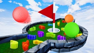 Download NEW IMPOSSIBLE MINI GOLF OBSTACLES! - Golf It Video