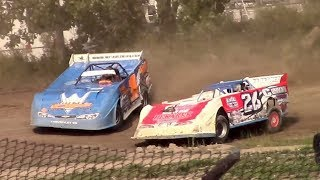 Download Topless RUSH Crate Late Model Heat One | Genesee Speedway | 9-17-17 Video