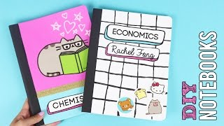 Download How to Make DIY Back to School Notebooks! Video