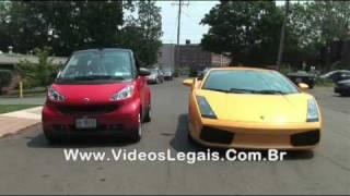 Download LAMBORGHINI vs SMART CAR Video