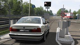 Download TOURIST HOTLAP #3 Nurburgring Nordschleife Vs BMW M5 E34 Video