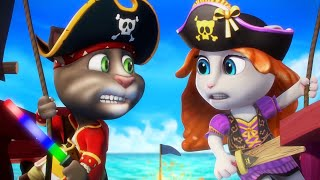 Download Talking Tom Shorts 22 - Power Pirates Video