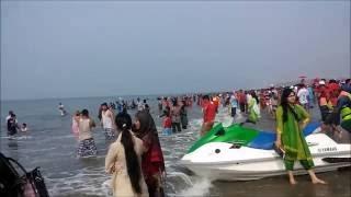 Download Cox's Bazar Sea Beach-Safe sea Bathing Video