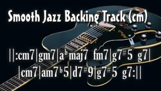 Download Smooth Jazz Backing Track (cm) Video