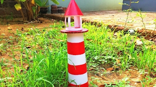 Download How To Make Light House    Simple model Video