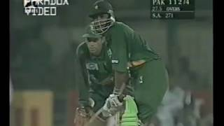 Download Pakistan 9/4 then INZAMAM & MOIN KHAN came to rescue - 133 Runs Stand - Vs South Africa at Lahore 97 Video