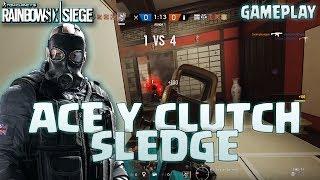 Download ACE Y CLUTCH CON SLEDGE!! - Caramelo Rainbow Six Siege Gameplay Español Video