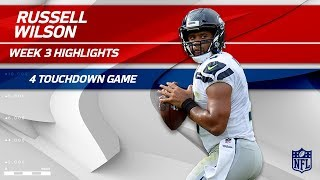 Download Russell Wilson's Amazing 4 TD Game vs. Tennessee | Seahawks vs. Titans | Wk 3 Player Highlights Video