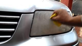 Download TUTORIAL, COMO PULIR FAROS DE AUTO PROFESIONALMENTE EN SEGUNDOS Video