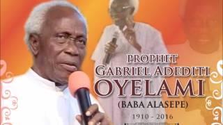 Download Alashepe Program Prophet Oyelami Video