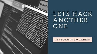 Download LETS HACK ANOTHER ONE | IT Security /w Zanidd Video