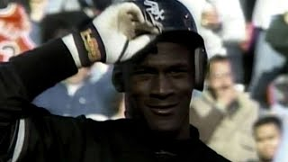 Download Michael Jordan plays right field for the White Sox Video
