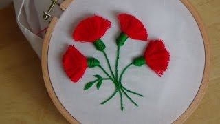 Download Hand Embroidery: Tassel Stitch (Flowers) Video