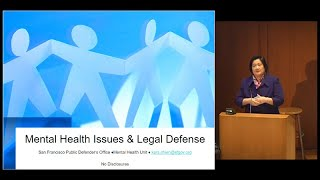 Download Mental Health Issues, Legal Defense and Developmental Disabilities Video