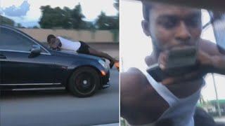 Download 911 Call of Man Clinging to Car Hood: 'Someone's Trying to Steal My Car' Video
