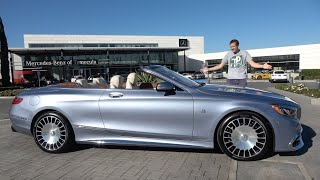 Download The Mercedes-Maybach S650 Cabriolet Is the $350,000 Ultimate S-Class Video