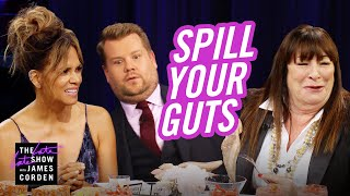 Download Spill Your Guts or Fill Your Guts w/ Halle Berry & Anjelica Huston Video