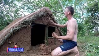 Download primitive technology Brazil Amazonas; . CASA SUBTERRÂNEA underground house Video