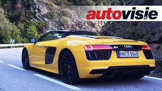 Download Review Audi R8 Spyder V10 (2016) - by Autovisie TV Video