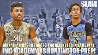 Download Johnathan McGriff DROPS TWO DEFENDERS in ONE Play! IMG vs Huntington Prep Full Recap! Video