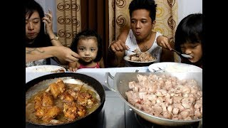 Download (COOKING NI SAO) Ginataang Langka and Fried Chicken + Taste Test Video