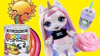 Download Baby Unicorn Doll Turns What She Eats Into Shiny SLIME ! Toys and Dolls Fun for Kids   SWTAD Video