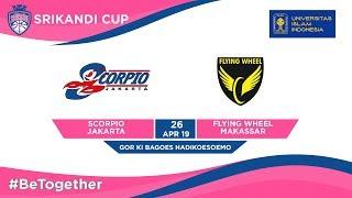 Download LIVE - Scorpio Jakarta vs Flying Wheel Makassar – UII-Playoffs Srikandi Cup 2019 - Consolation Video