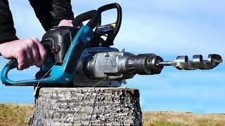 Download Chain Saw HACK 7 - Drill Attachment Video