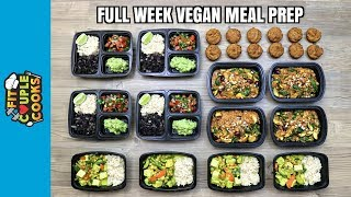Download FULL WEEK VEGAN MEAL PREP ($6/Day) How to Meal Prep - Ep. 71 Video