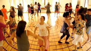 Download Bim Bam Bum, danzas circulares chile, danzando en Centro Tremonhue, Chile Video