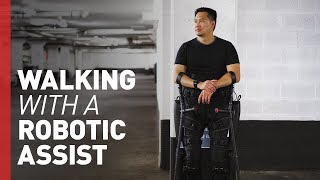 Download A Life Changed by Robotic Legs Video