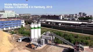 Download Kies Beton Krebs, Neubau U4 (2013) in Hamburg Video