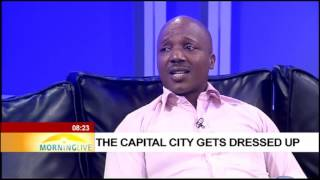 Download The capital city gets dressed up Video