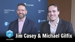 Download Jim Casey and Michael Gilfix, IBM - IBM Interconnect 2017 - #ibminterconnect - #theCUBE Video