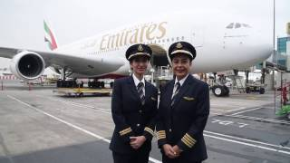 Download Female pilots fly Emirates A380 for International Women's Day | Emirates Airline Video