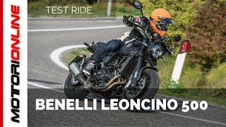 Download Benelli Leoncino 500 | Test ride Video