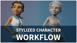 Download Stylized Character Workflow with Blender 2.81 Video