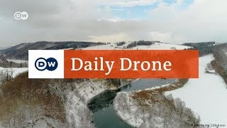 Download #DailyDrone: Iller Gorge near Kalden Video