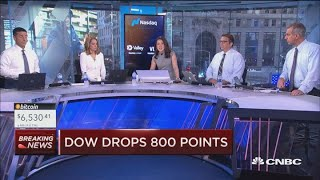 Download Dow drops 800 points Video